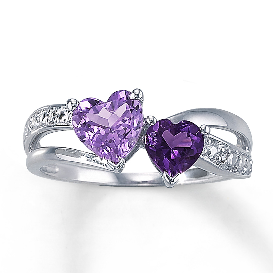 Amethyst Mothers Ring