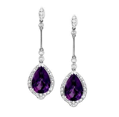 Earings Of Gemstones