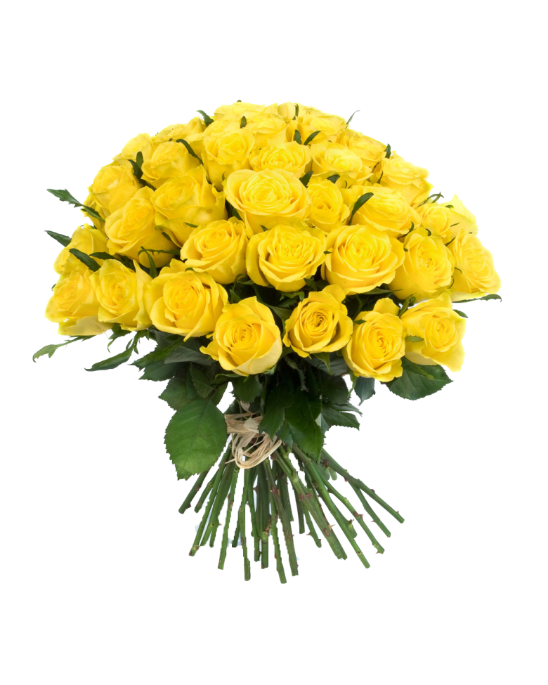 Yellow Color Flower Bouquet
