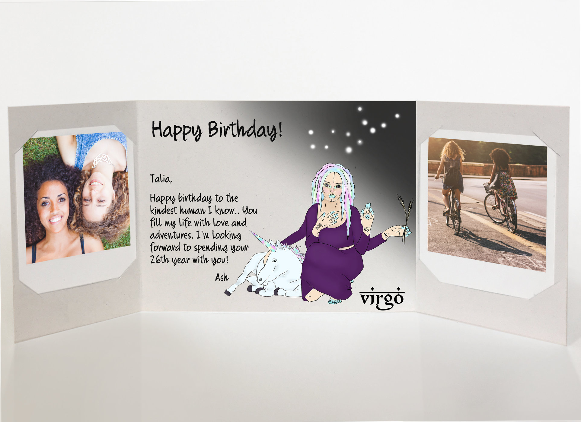 How to send a birthday card Easily?