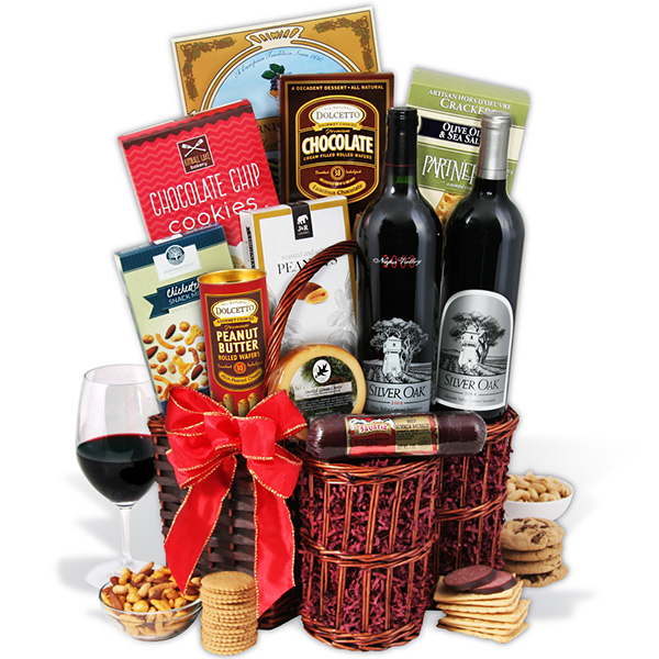 Same Day Wine Baskets Gift