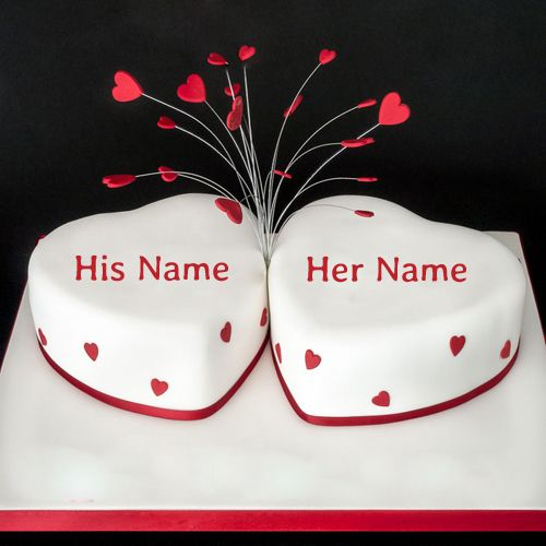 Make Happy Anniversary Cake With Name And Photo