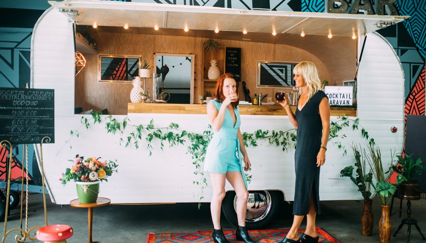 mobile bar for your wedding