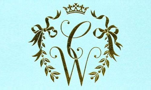 Get customized monograms for your big day