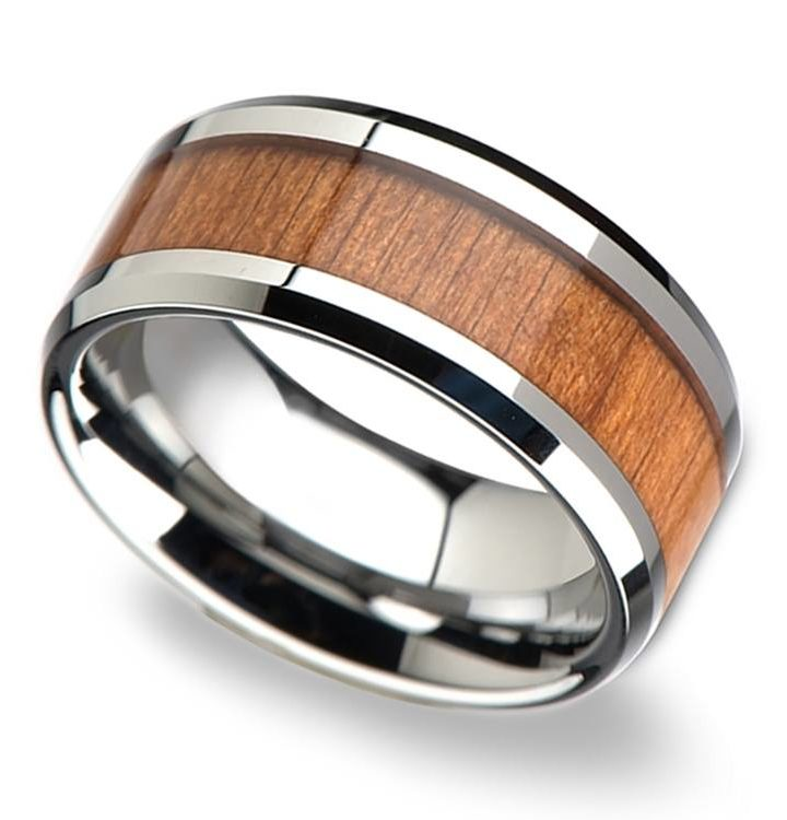 Tips to buy tungsten & wood wedding bands