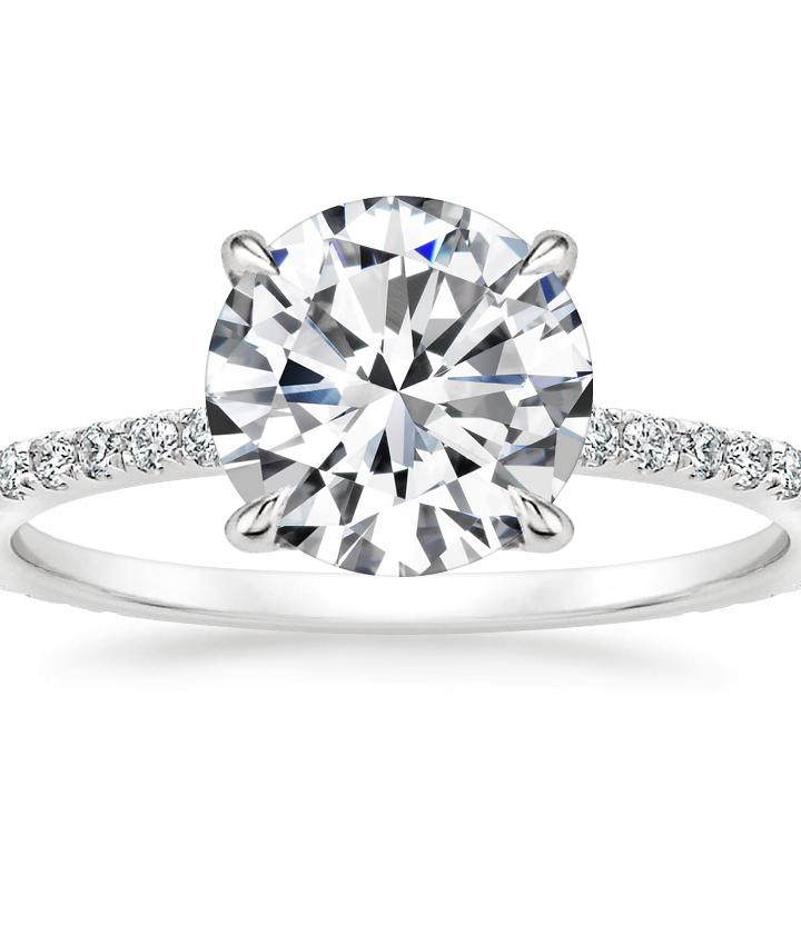 Ideal custom engagement rings