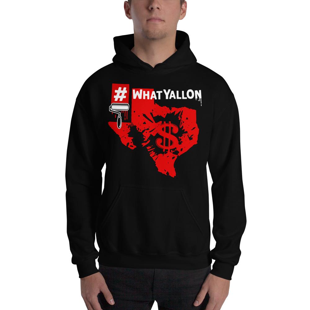 Whatyallon hooded sweatshirt