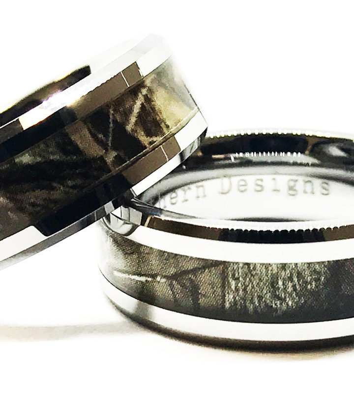 Camo wedding rings are something you would never like to miss
